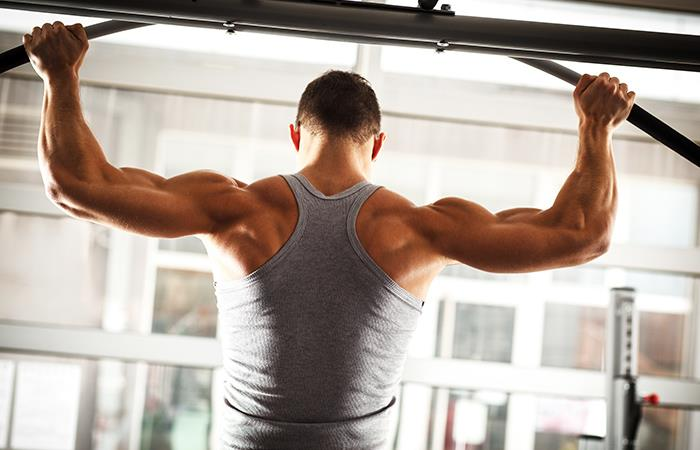 Espalda ancha y fuerte. Foto: Shutterstock