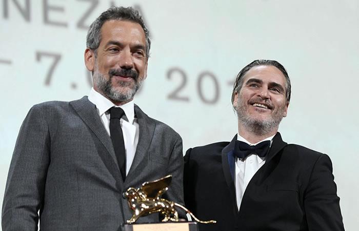 Todd Phillips y Joaquin Phoenix. Foto: EFE