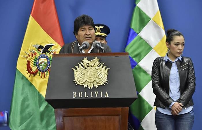 Presidente de Bolivia, Evo Morales. Foto: EFE.