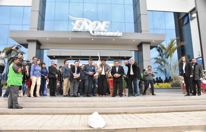 Edificio central de ENDE Transmisión. Foto: ABI.