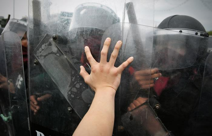 Enfrentamientos en Santa Cruz. Foto: ShutterStock.