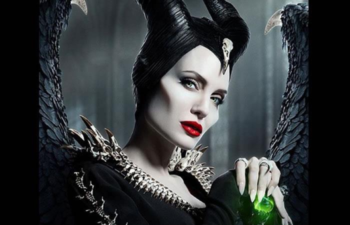 Angelina Jolie interpretando a Maléfica. Foto: Instagram oficial @disney