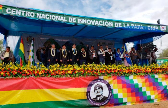 Se inaugura el Centro nacional para la innovación de la papa