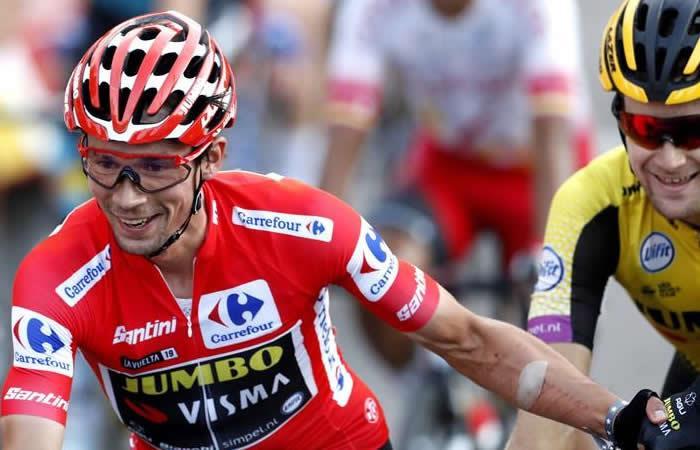 Primoz Roglic campeón del La Vuelta 2019. Foto: EFE