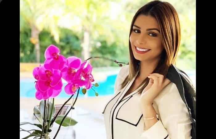 Camila Lepere Serrano, Miss Santa Cruz 2014. Foto: Instagram oficial @camilalepere