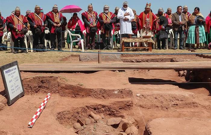 El hallazgo ha significado una nueva historia para la arqueología en Bolivia. Foto: EFE
