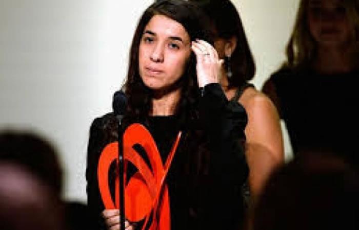 Nadia Murad, activista iraquí de derechos humanos. Foto: ABI
