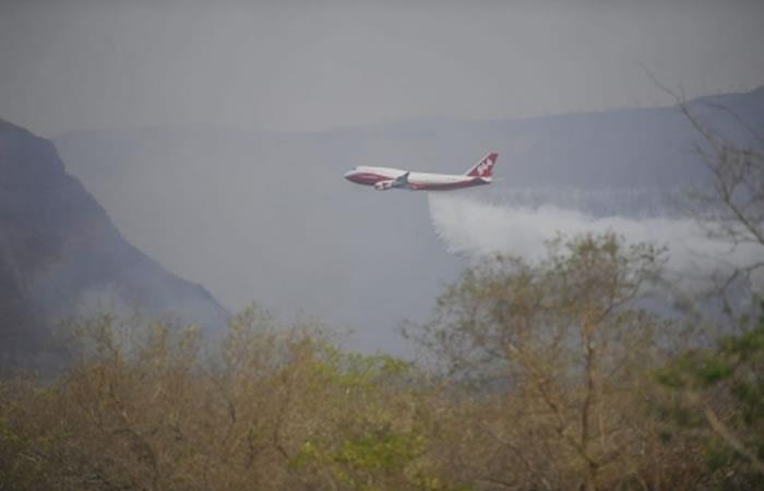 Bolivia está ganando la lucha contra el fuego. Foto: ABI.