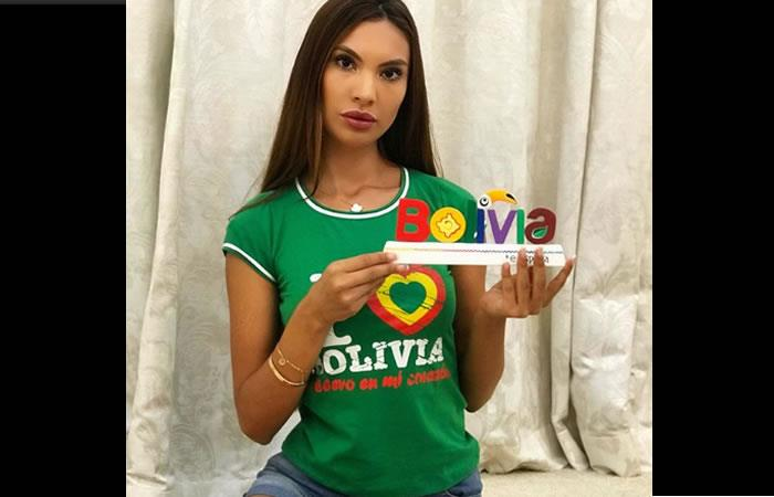 La modelo boliviana Jazmín Durán. Foto: Instagram oficial @jazzminduran