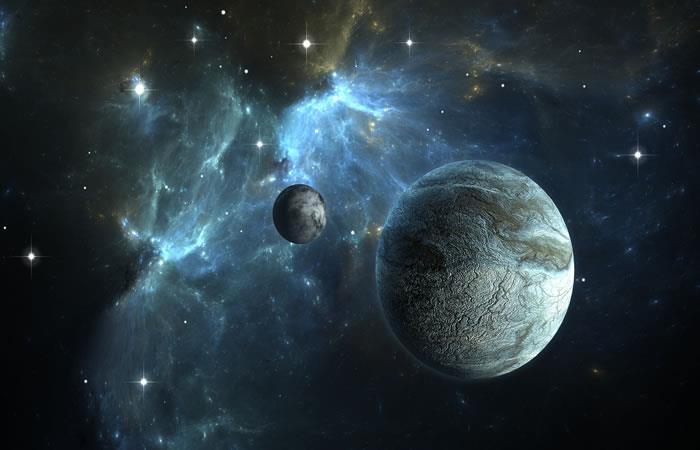 Exoplaneta gaseoso. Foto: ShutterStock.