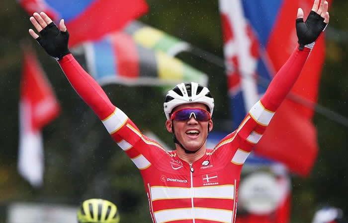 Mads Pedersen, es el nuevo campeón en Mundial de Ciclismo de Ruta - EFE