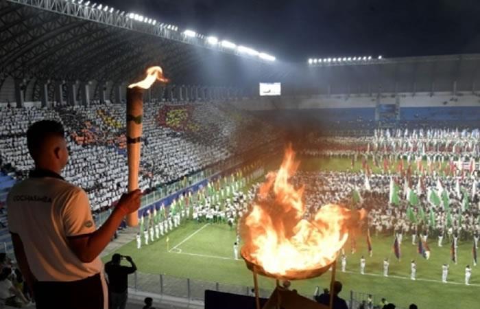 Juegos Estudiantiles Plurinacionales fueron creados para la búsqueda de nuevos talentos deportivos. Foto: ABI.