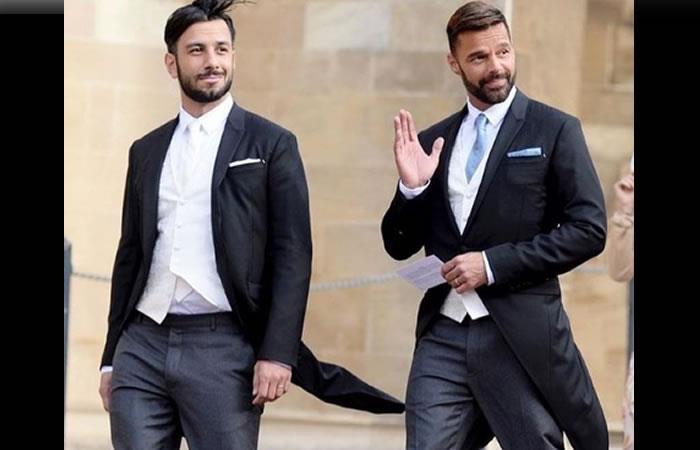 Jwan Yosef junto a Ricky Martin. Foto: Instagram