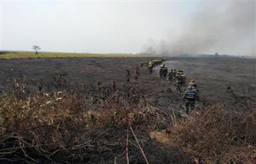 """Gobierno """"agiliza"""" la firma de acuerdos para la fase postincendio en la Chiquitania"""