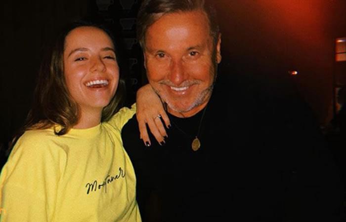 Evaluna y su padre Ricardo Montaner. Foto: Instagram
