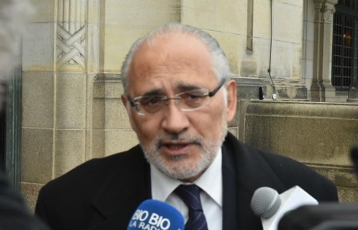 Ministro de Gobierno, Carlos Romero. Foto: ABI.