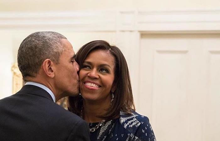 Los Obama están de aniversario. Foto: Instagram oficial @barackobama