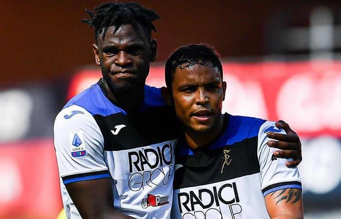 Duvan Zapata sigue marcando con el Atalanta en la Serie A - EFE