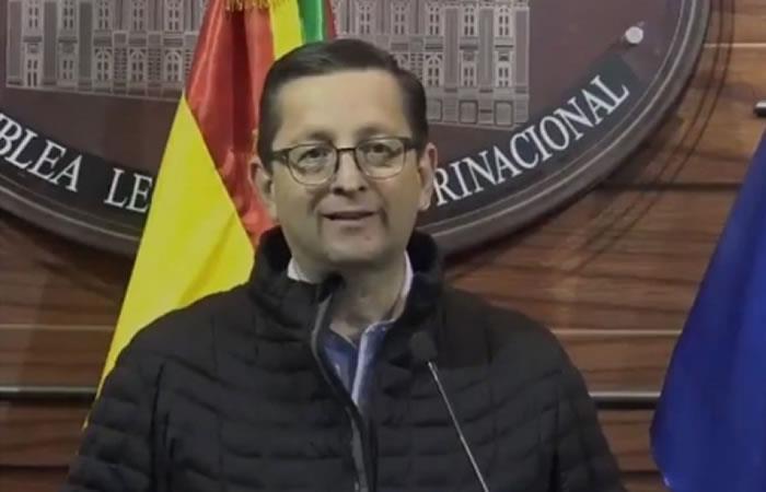 Presidente de Demócratas y gobernador de Santa Cruz, Rubén Costas. Foto: ABI.