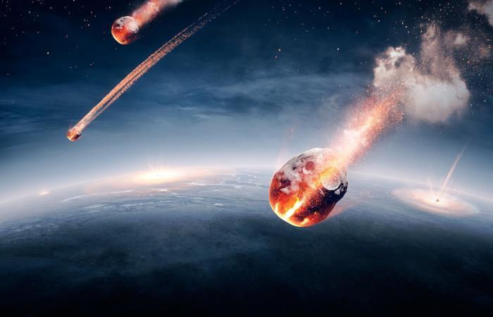 Al parecer la lluvia de meteoritos se desprenden de dos grandes cometas. Foto: Shutterstock.
