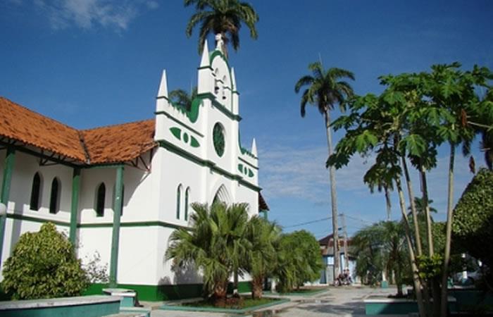 Catedral del departamento de Pando. Foto: ABI,