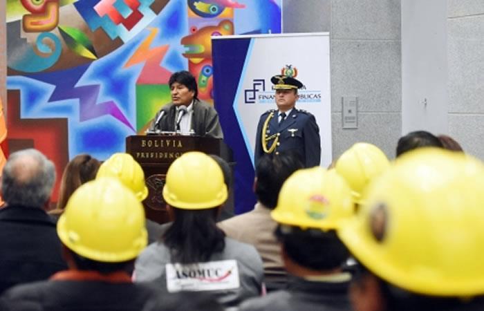 Reglamentación de la Ley del Seguro Obligatorio contra Accidentes para la Trabajadora y Trabajador en el Ámbito de la Construcción. Foto: ABI.