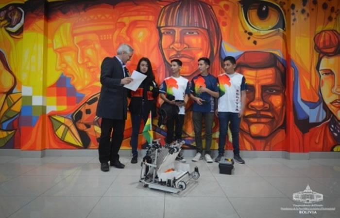 Participación de Bolivia en competencia internacional. Foto: ABI.
