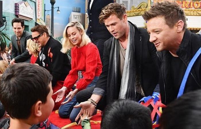 Reparto de la última entrega de 'Avengers'. Foto: Instagram oficial @avengers