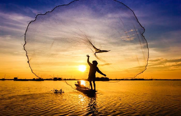 Segundo productor piscícola. Foto: Shutterstock.