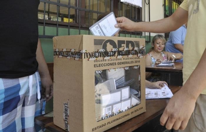 El pueblo boliviano exige transparencia en el recuento de votos. Foto: ABI.