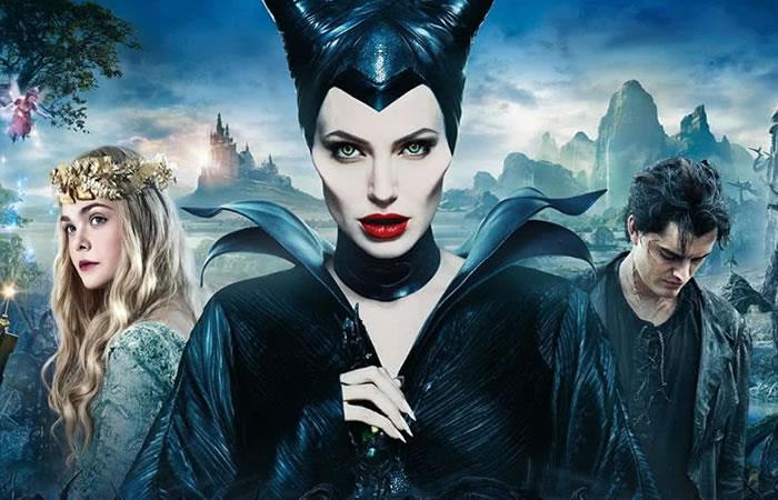 Angelina Jolie interpretando a Maléfica. Foto: Instagram