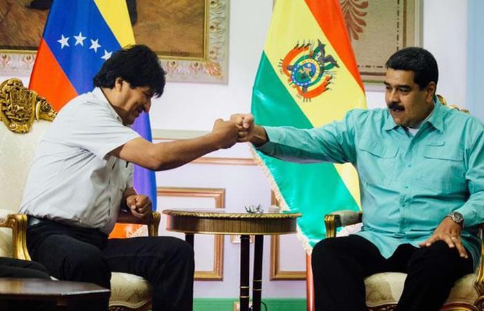 Maduro respalda