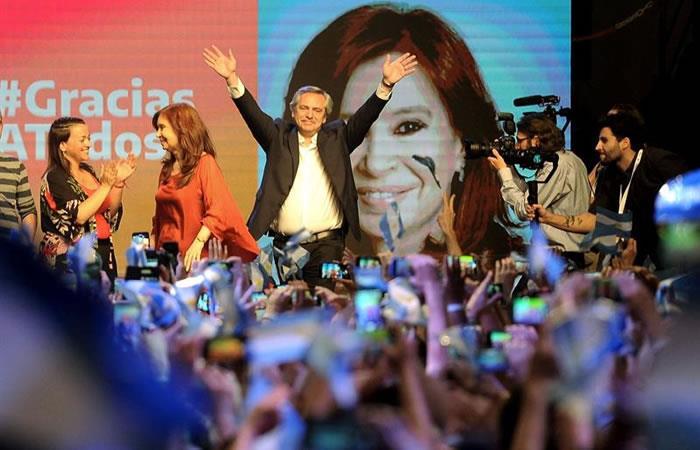 El peronista Alberto Fernández, presidente electo de Argentina tras ganar en primera vuelta. Foto: EFE