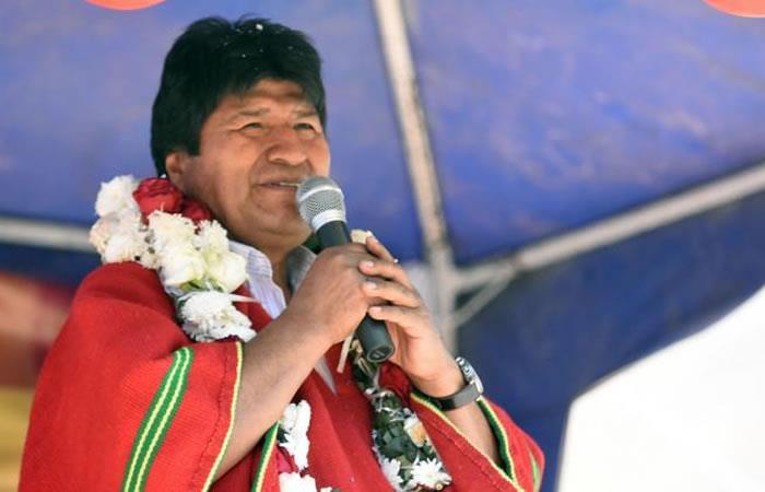 Presidente de Bolivia, Evo Morales. Foto: ABI
