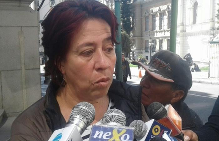 Viceministra de Medio Ambiente, Cynthia Silva. Foto: ABI