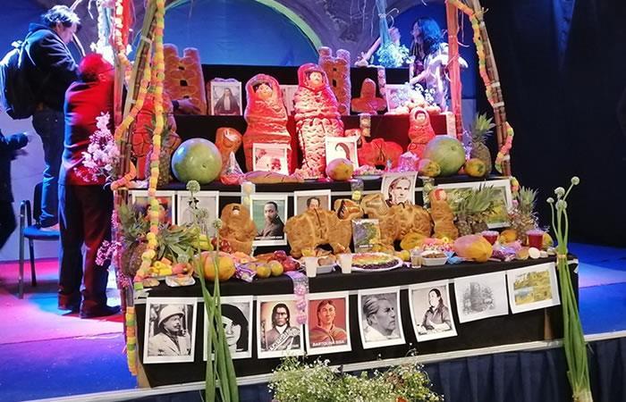 Celebración de Todos los Santos en Bolivia. Foto: Twitter