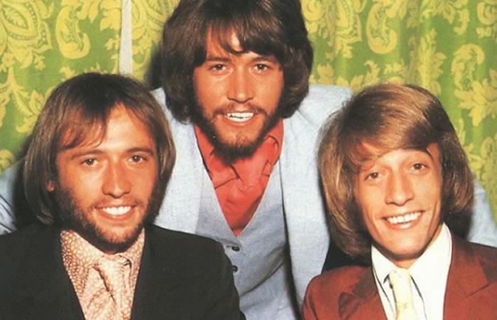 Bee Gees cuando eran jóvenes. Foto: Instagram