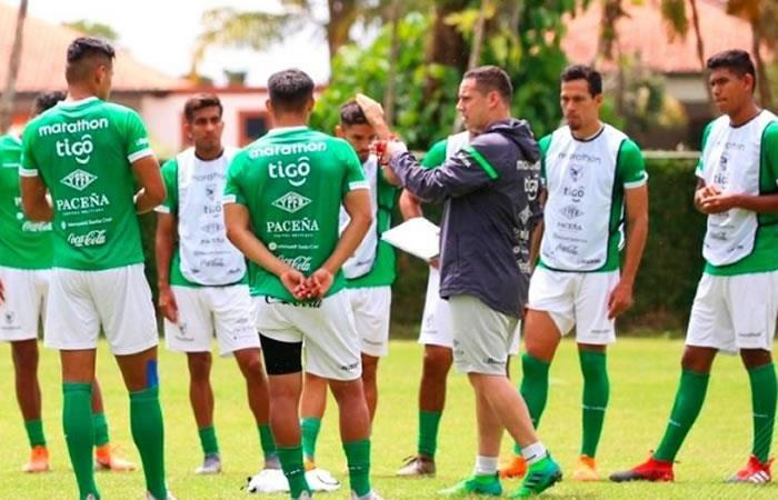 Selección 'La Verde'. Foto: Twitter oficial @FBF_BO