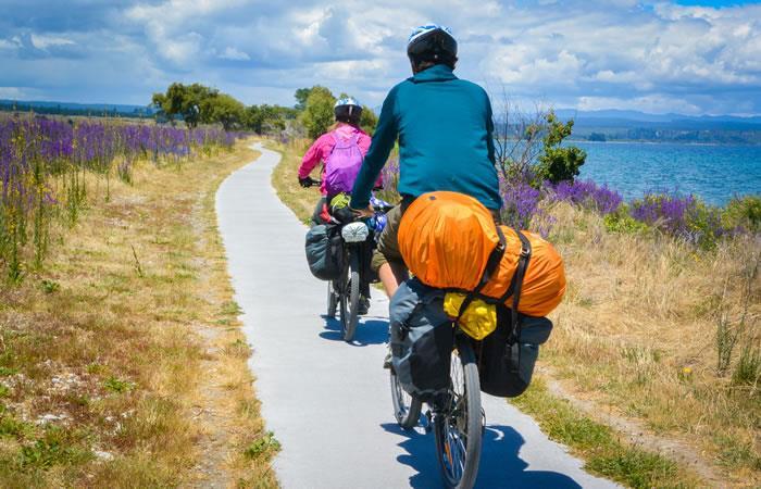 Viajar en Bicicleta. Foto: Shutterstock.