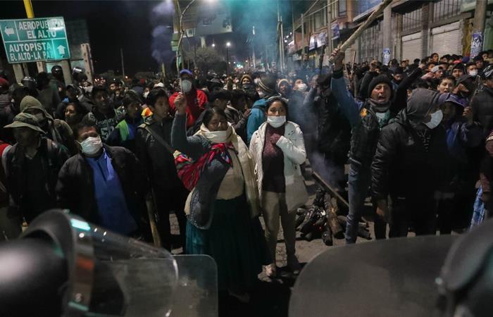 Resultado de imagen para protestas El Alto