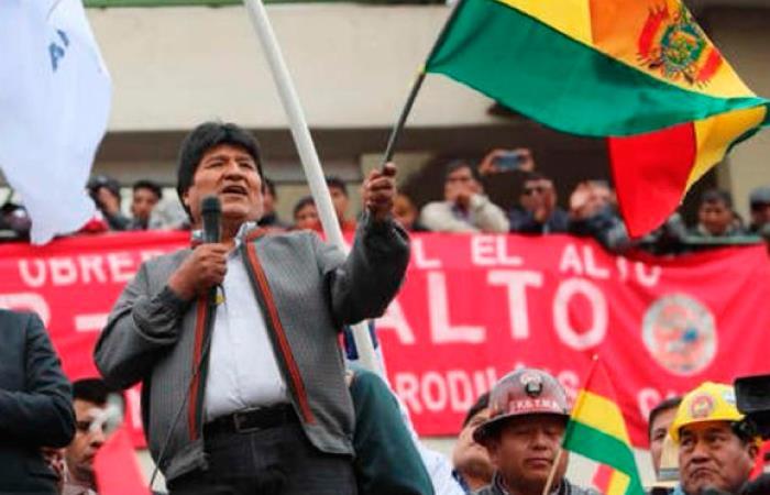 Desde ayer se desconoce el paradero de Evo Morales. Foto: Twitter @Mippcivzla
