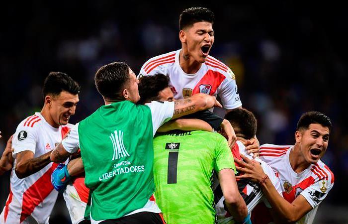 River Plate repite final en la Copa Libertadores. Foto: EFE