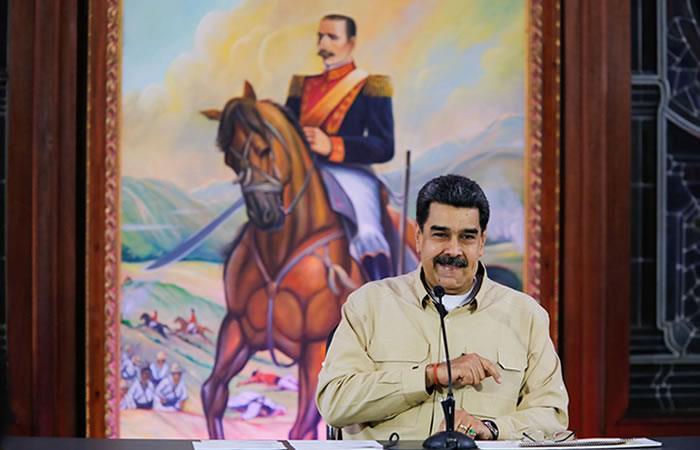 Maduro, respondió a su homólogo de EE.UU., Donald Trump. Foto: EFE