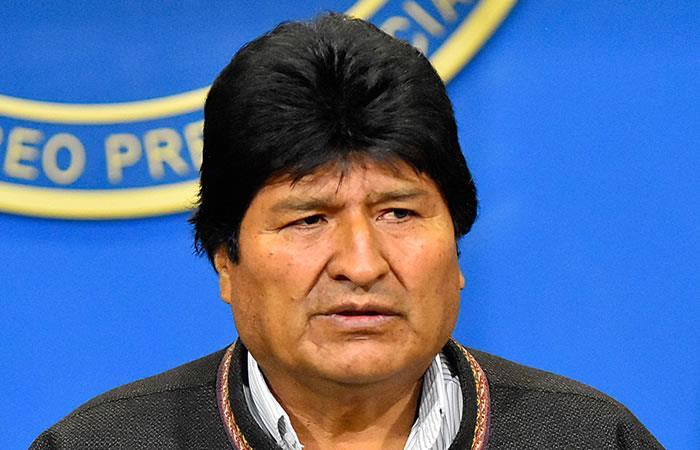 Evo no se siente responsable de la crisis actual en Bolivia. Foto: EFE