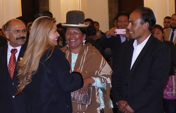 Indígena aimara es la nueva titular de Culturas y Turismo de Bolivia. Foto: EFE