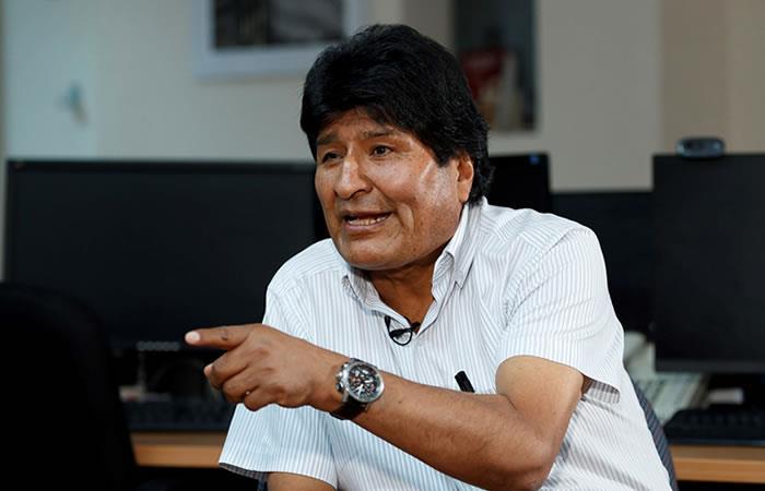 Evo Morales manifiesta que tiene