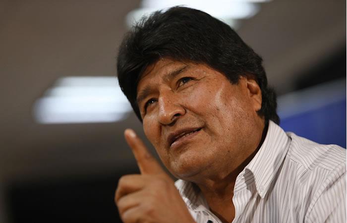 """Morales señala a Carlos Mesa como """"cómplice del golpe"""". Foto: EFE"""