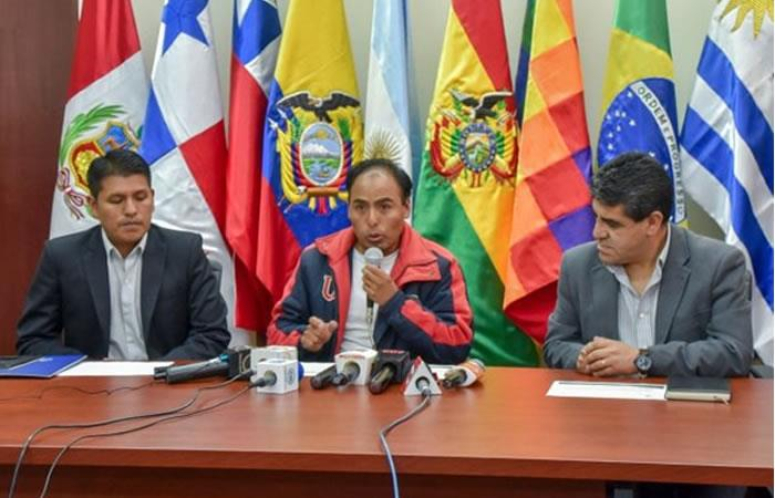 Milton Navarro, nuevo ministro de Deportes. Foto: Twitter/@mindeportesbo