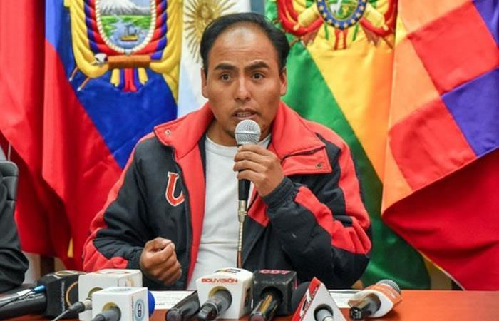 Ministro de Deportes, Milton Navarro. Foto: Twitter/@@mindeportesbo
