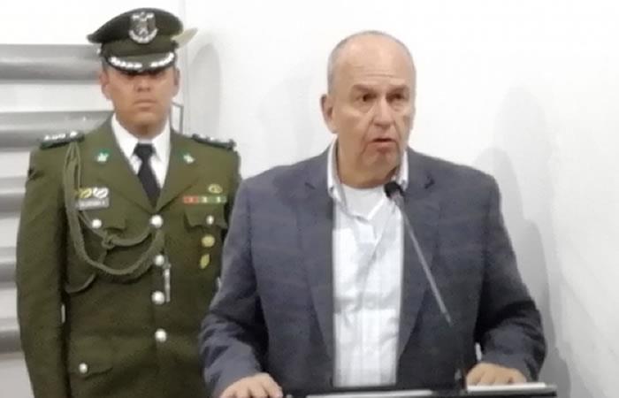 Ministro de Gobierno, Arturo Murillo. Foto: ABI